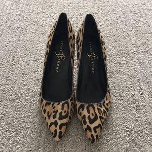 Ivanna Trump Animal Print Heels 8.5